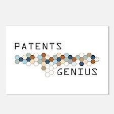 Patents Genius Postcards (Package of 8)