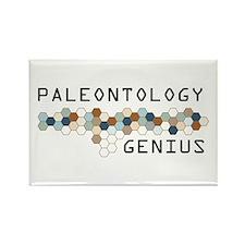 Paleontology Genius Rectangle Magnet