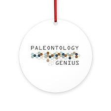 Paleontology Genius Ornament (Round)