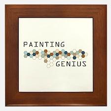 Painting Genius Framed Tile
