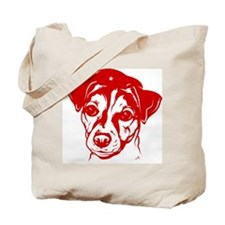 Jack Russell Terrier Revolution! icon Tote Bag