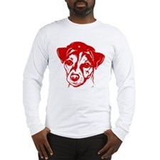 Obey the Jack Russell! icon Long Sleeve T-Shirt