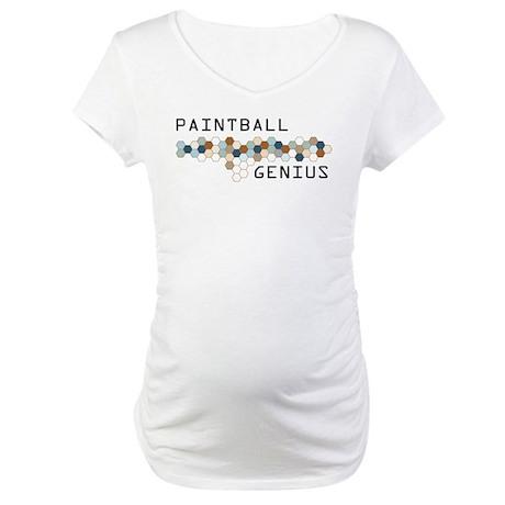 Paintball Genius Maternity T-Shirt