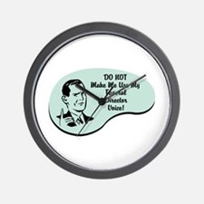 Funeral Director Voice Wall Clock