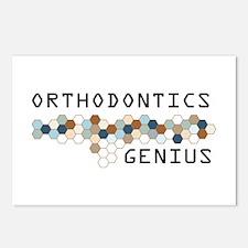 Orthodontics Genius Postcards (Package of 8)