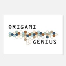 Origami Genius Postcards (Package of 8)