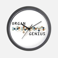 Organ Genius Wall Clock