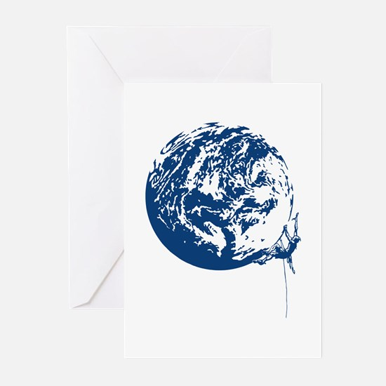Earth Tribe Climber Greeting Cards (Pk of 10)
