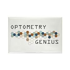 Optometry Genius Rectangle Magnet (100 pack)
