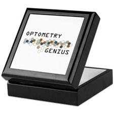 Optometry Genius Keepsake Box