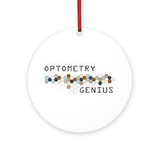 Optometry Genius Ornament (Round)