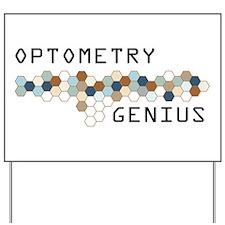 Optometry Genius Yard Sign