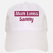 Mom Loves Sammy Baseball Baseball Cap