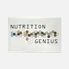 Nutrition Genius Rectangle Magnet