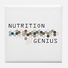 Nutrition Genius Tile Coaster