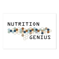 Nutrition Genius Postcards (Package of 8)