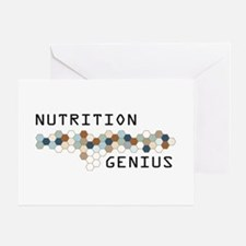 Nutrition Genius Greeting Card