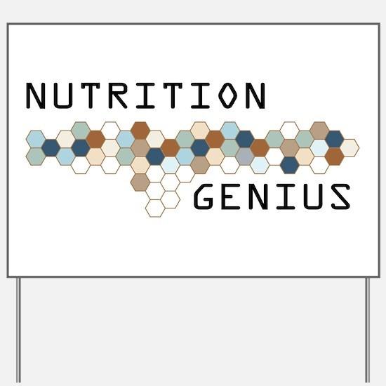Nutrition Genius Yard Sign