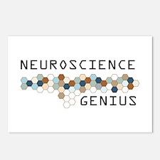 Neuroscience Genius Postcards (Package of 8)