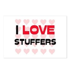 I LOVE STUFFERS Postcards (Package of 8)