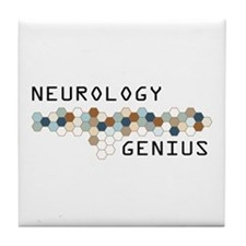 Neurology Genius Tile Coaster