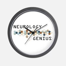 Neurology Genius Wall Clock
