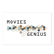 Movies Genius Postcards (Package of 8)