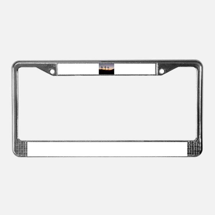 Cute Lent License Plate Frame