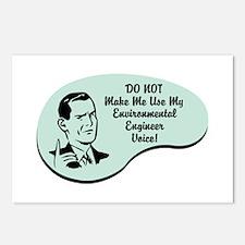 Environmental Engineer Voice Postcards (Package of