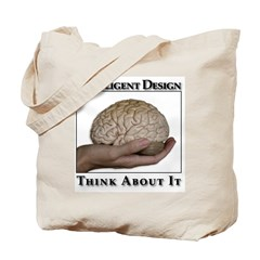 ID Brain Tote Bag