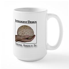 ID Brain Large Mug