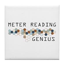 Meter Reading Genius Tile Coaster