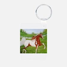 Chestnut Saddlebred Keychains