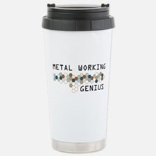 Metal Working Genius Stainless Steel Travel Mug