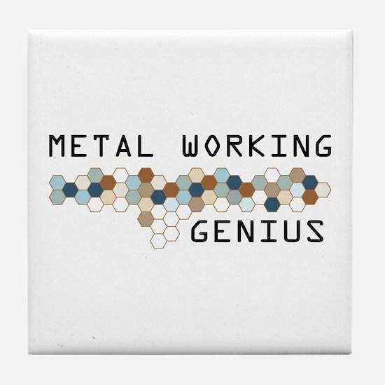 Metal Working Genius Tile Coaster
