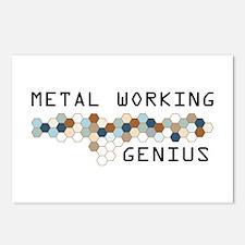 Metal Working Genius Postcards (Package of 8)
