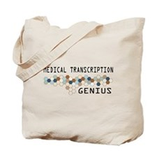 Medical Transcription Genius Tote Bag