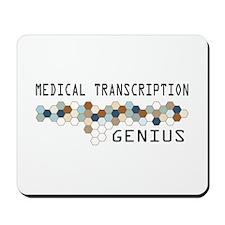Medical Transcription Genius Mousepad