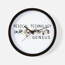 Medical Technology Genius Wall Clock