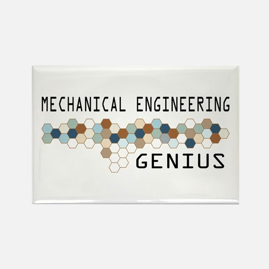 Mechanical Engineering Genius Rectangle Magnet