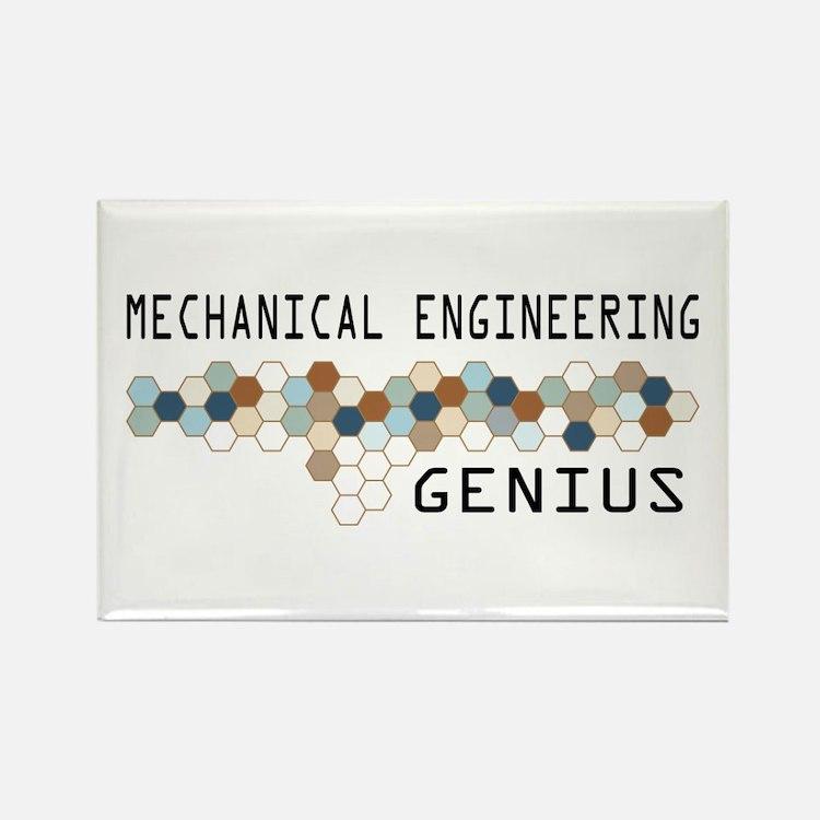 Mechanical Engineering Genius Rectangle Magnet