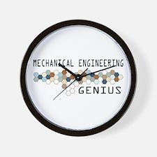 Mechanical Engineering Genius Wall Clock
