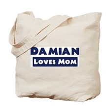 Damian Loves Mom Tote Bag