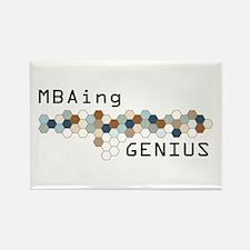 MBAing Genius Rectangle Magnet