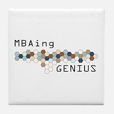 MBAing Genius Tile Coaster