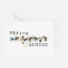 MBAing Genius Greeting Card