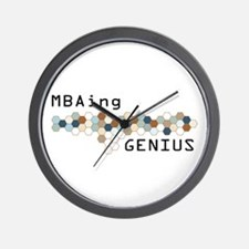 MBAing Genius Wall Clock