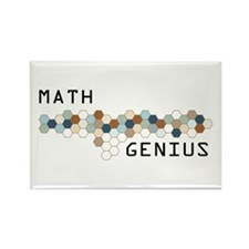 Math Genius Rectangle Magnet