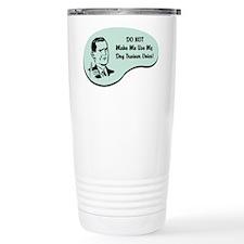 Dog Trainer Voice Travel Mug