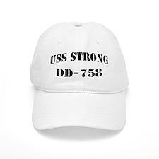 USS STRONG Baseball Cap